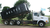 Bolte's Sunrise Sanitation truck