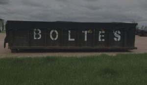 Bolte's Sunrise Sanitary Service Roll Off Dumpster